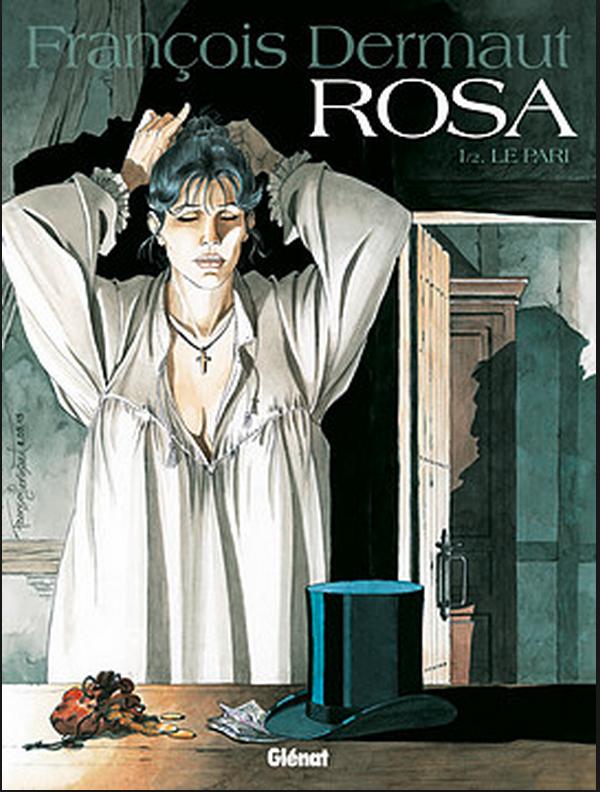 Francois Dermaut, Rosa, 1/2, Weddenschap, Strip