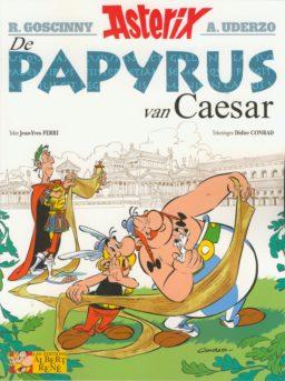 Stripspeciaalzaak, Strips kopen, nieuwe strips, stripshop, Albums, Conrad, Ferri, Rene Goscinny, Albert Uderzo, De Papyrus van Caesar, 36, Asterix en Obelix, Hachette