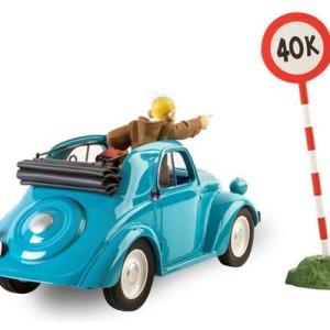 Robbedoes, kwabbernoot, Andre Franquin, Fiat Topolino, Zwarte Hoeden, Le garage de Franquin, Miniatuur, Auto, Kopen, Bestellen, Collectors item