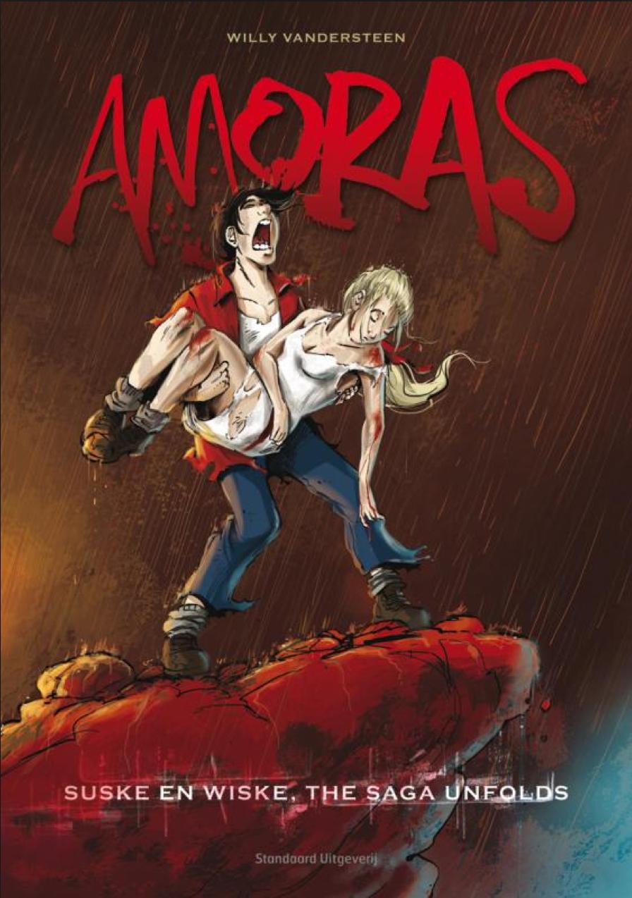 Amoras - De Complete Saga, Stripspeciaalzaak, Strips kopen, nieuwe strips, stripshop, Albums, Amoras, Amoras 1, Suske, Wiske, Strip, Stripboek, Stripverhaal, Standaard, Kopen, Bestellen