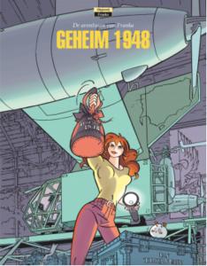 Franka 23, Geheim 1948, Henk Kuijpers, Stripverhaal, Stripboek, kopen, bestellen, Avontuur, Detective, Strips Ahoy Maart 2016