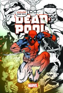 Comic Kleurboeken, Deadpool, Kleurboek, Color your own, Kleurboek Volwassenen, Marvel, Kopen, Bestellen