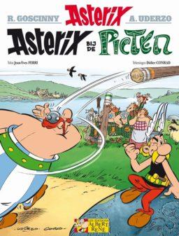 Asterix 35, Picten, Conrad, Ferri, Uderzo, Goschini, Strip, stripboek, kopen, bestellen