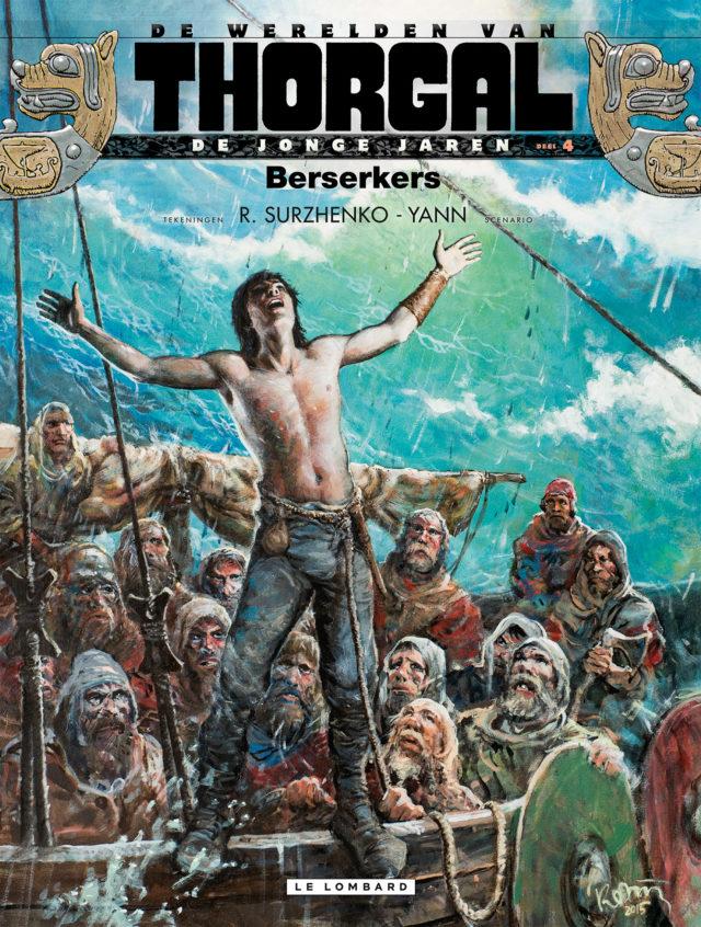 Thorgal, Jonge Jaren 4, Beserkers, Lombard, Surzhenko, Strip, Stripboek, Kopen, Bestellen
