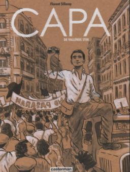 Capa, Vallende Ster, Casterman, Fotograaf, Strip, Stripboek, Kopen, Bestellen