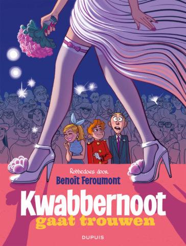 Robbedoes door 9, Feroumont, Kwabbernoot gaat trouwen, Dupuis, Strip, Stripboek, Kopen, Bestellen