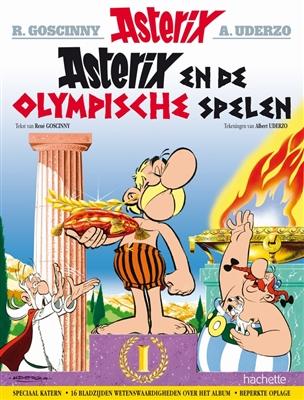 Asterix, Asterix 12, Olynpische Spelen, Obelix, Kopen, Bestellen, strip, stripboek, stripwinkel