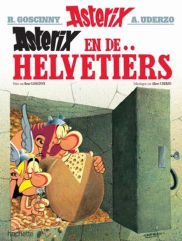 Asterix, Asterix 16, Helvetiërs, Obelix, Kopen, Bestellen, strip, stripboek, stripwinkel