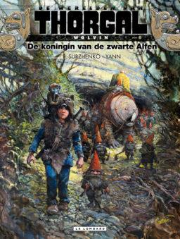 Wolvin, 6, Thorgal, Koningin van de zwarte alfen, strip, stripboek, werelden, kopen, bestellen