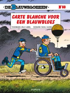 Blauwbloezen 60, Carte Blanche voor een Blauwbloes, Lambil, Cauvin, Dupuis