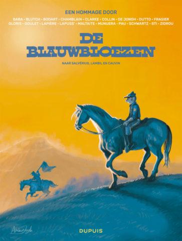 Blauwbloezen - Een hommage door... HC, Blauwbloezen - Een hommage door, Blauwbloezen, hommage door, De Jongh, Zidrou, Dupuis