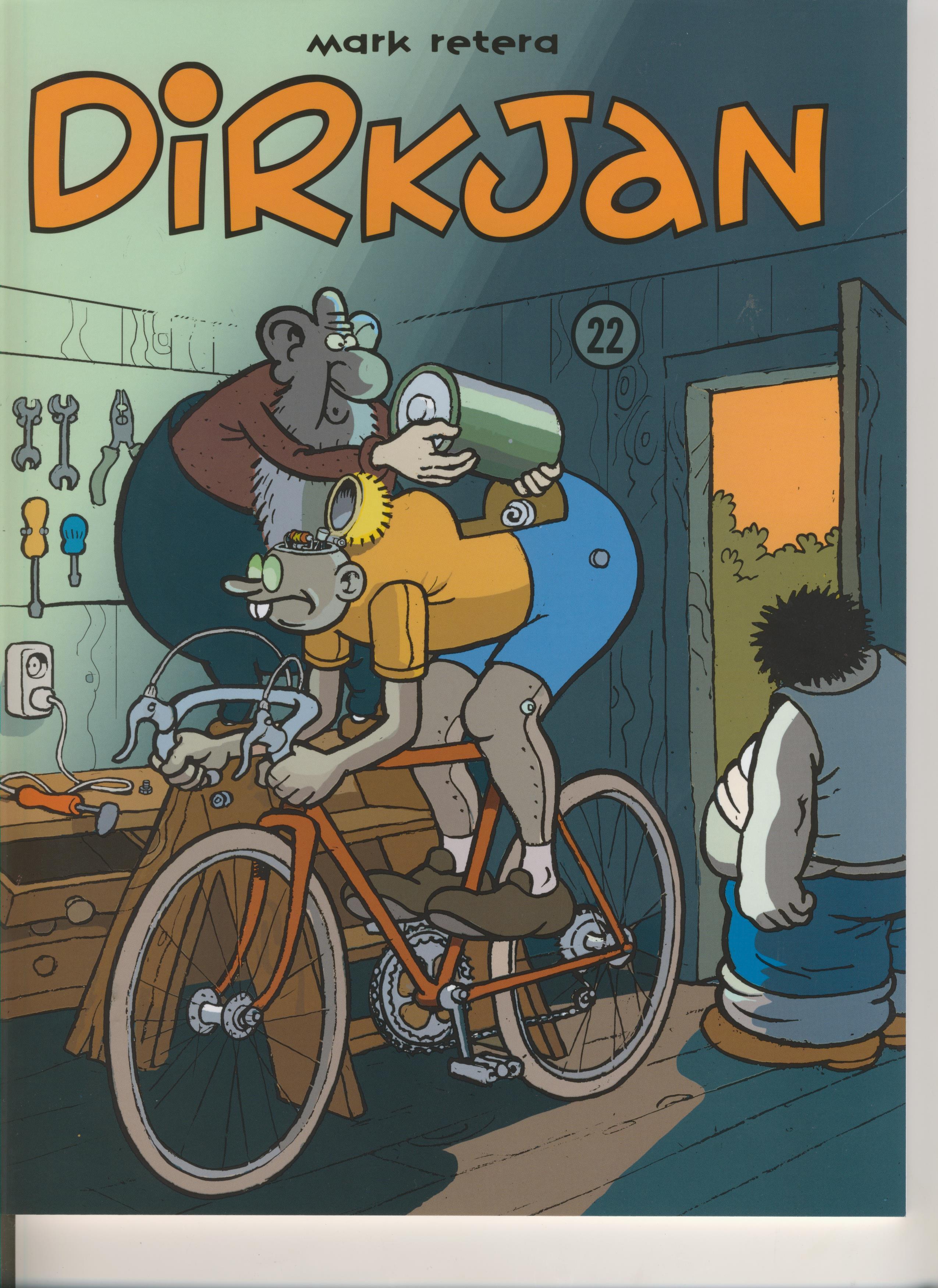 Dirkjan 22, strip, stripboek, kopen, bestellen