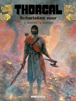 Nieuwe Thorgal, Thorgal 2016, Thorgal 35, Thorgal 35 HC, Scharlaken Vuur, Rosinski, Dorison, Lombard