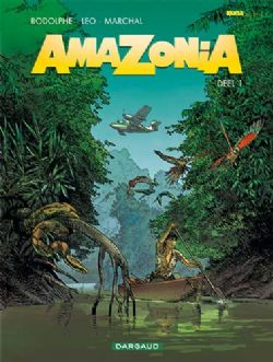 Amazonia 1, Leo, Strip, Dargaud, Stripboek,