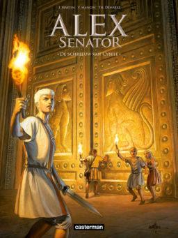 Alex Senator 5 - De Schreeuw van Cybele, Alex Senator 5, Casterman, Jaques Martin