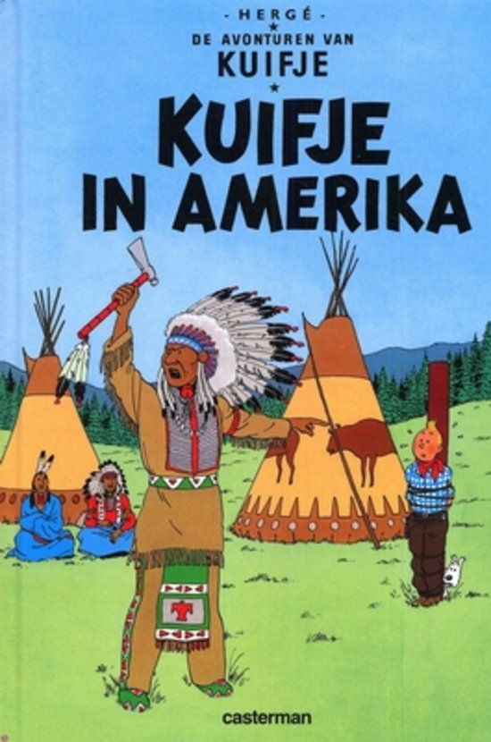 Kuifje 3, Kuifje in Amerika