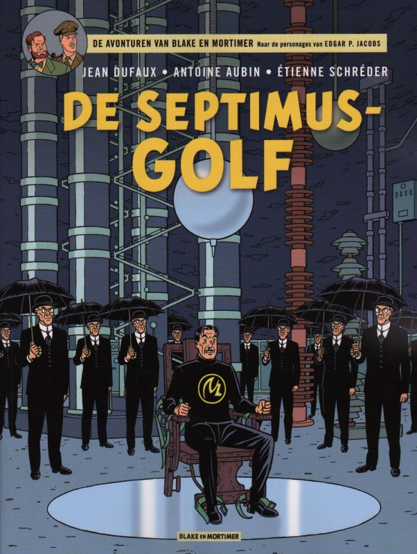 Blake en Mortimer 22, Septimus Golf, Jacobs