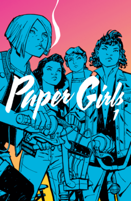 Paper Girls 1, Vaughan, Chiang