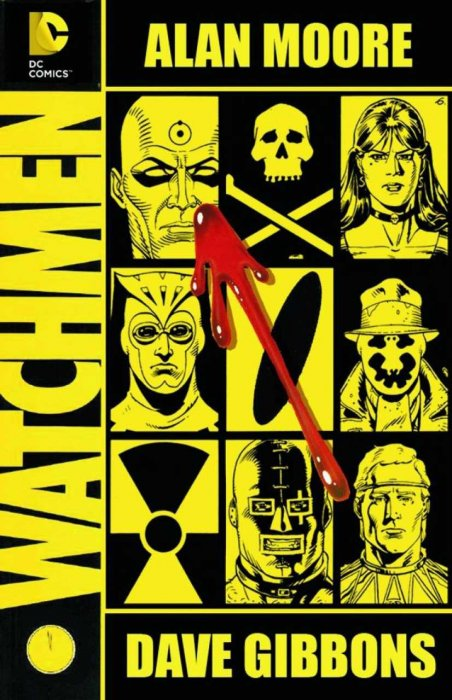 Watchmen, Alan Moore, Dave Gibbons, DC
