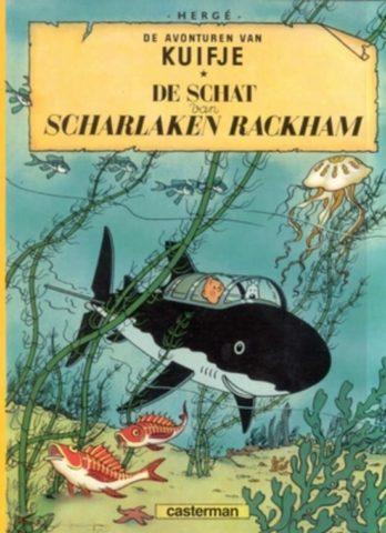 Kuifje 12, Schat van Scharlaken Rackham, strip, stripboek, stripverhaal, album, kopen, bestellen, online, webwinkel