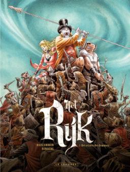 Het Rijk 1, Seizoen der Demonen, Sylvain Runberg, Olivier Boiscommun, Lombard, Strip, Stripboek, Stripverhaal, Kopen, bestellen
