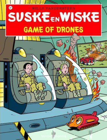 Suske en Wiske 337, Game of Drones, Strip, stripboek, stripverhaal, kopen, bestellen