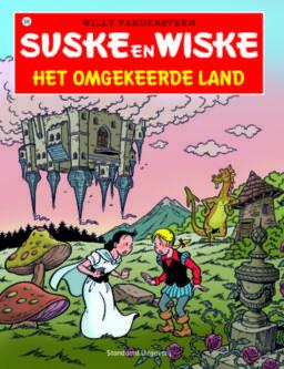 Suske en Wiske 336, Omgekeerde land, strip, stripboek, stripverhaal, kopen, bestellen