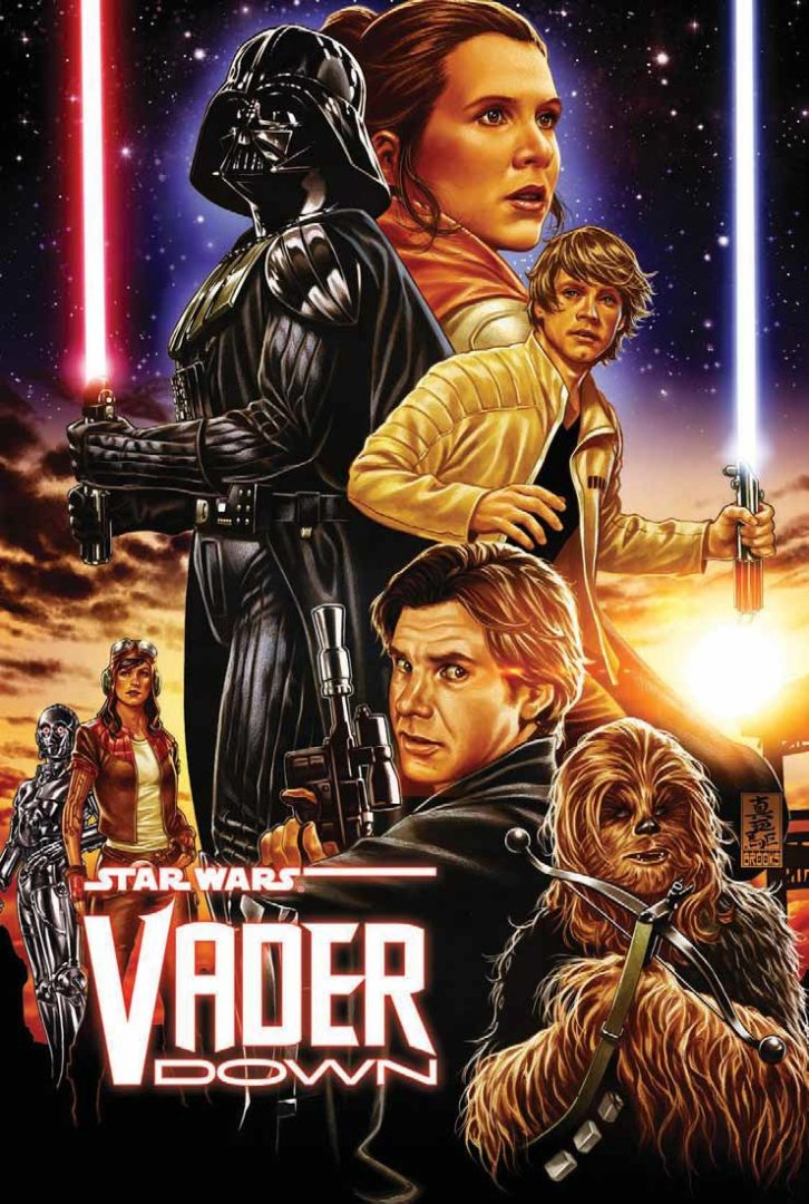 Vader Down, Star Wars, comic, comics, strip, stripboek, stripverhaal