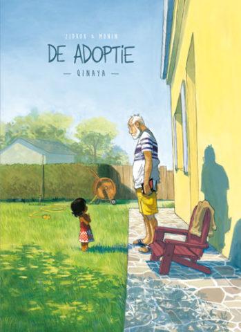 Adoptie 1, Online, Strips, stripboek, stripverhaal, kopen, bestellen