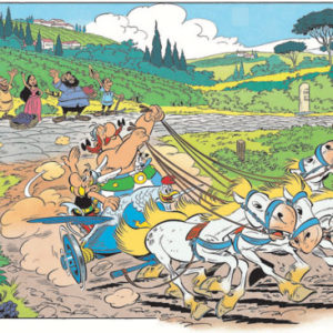 Asterix 37, Race door de Laars luxe