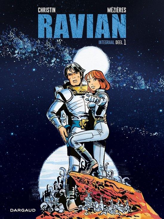 Ravian 1, Valerian, Integraal, Dargaud, Christin, Mézières, Besson, Fifth Element, Star Wars, Online, Comic, Strip, Stripboek, Stripverhaal, Graphic Novel, Kopen, Bestellen, Buy, Order