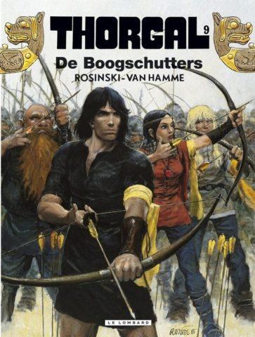 Boogschutters, Thorgal 9, Strip, Stripboek, Kopen, Bestellen, online, album