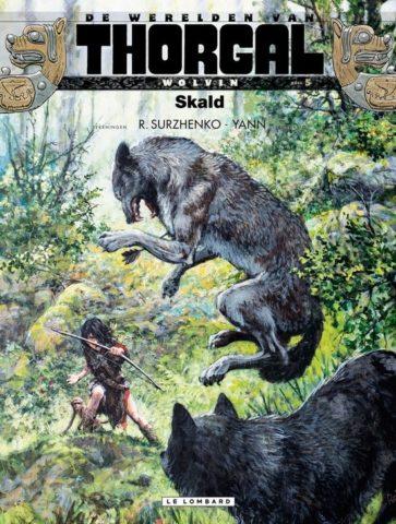 Thorgal, Wolvin 5, Skald, Strip, stripboek, album, bestellen, kopen, online