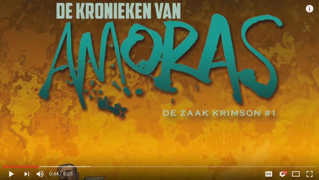 kronieken van amoras, BlunderTV, reportage, Amoras, Suske en Wiske, Kronieken, Krimson