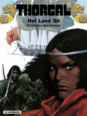 Thorgal 10, Land van Qâ, Strip, stripboek, stripverhaal, album, kopen, bestellen, online