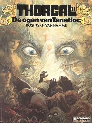 Thorgal 11, Ogen van Tantatloc, Strip, stripboek, stripverhaal, album, kopen, bestellen, online