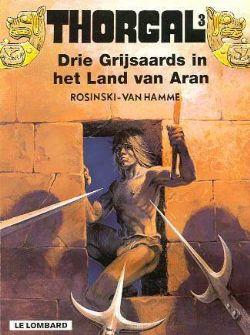 Thorgal 3, Grijsaards, land van aran, Strip, stripboek, stripverhaal, album, kopen, bestellen, online