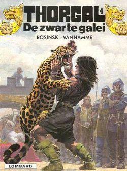 Thorgal 4, Zwarte galei, Strip, stripboek, stripverhaal, album, kopen, bestellen, online