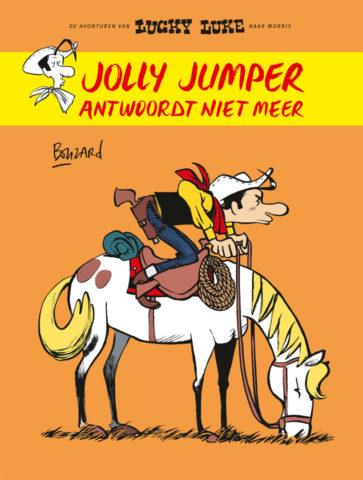 Lucky Luke door Bouzard, Jolly Jumper antwoordt niet meer