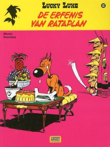 Erfenis van Rataplan, 9782884713955, Lucky Luke 43