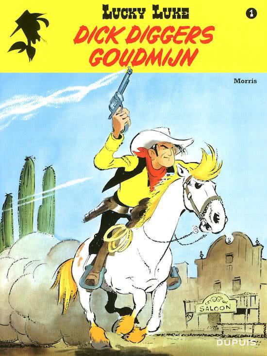 Lucky Luke 1, dirk diggers goudmijn
