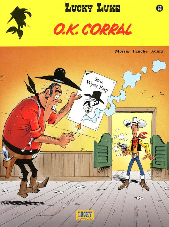 o.k. corral, lucky luke 68