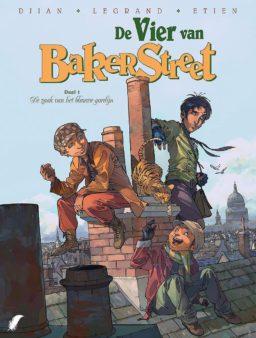 Vier van Baker Street 1, Vier van Bakerstreet, De Zaak van het Blauwe Gordijn