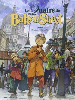 Vier van Baker Street 2, Dossier Raboekin