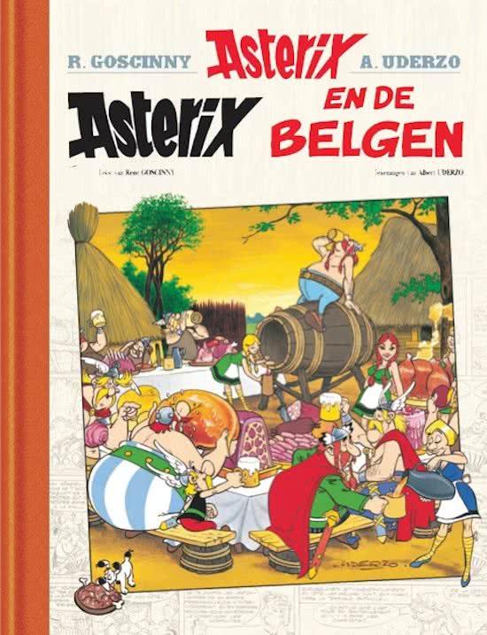 Asterix en de Belgen. Asterix 24, Luxe uitvoering, luxe editie,