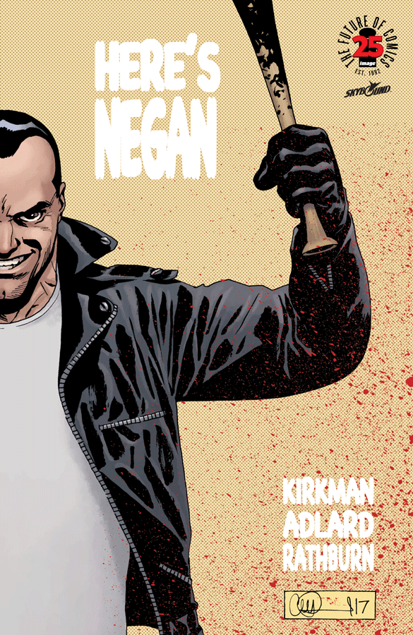 The Walking Dead, Here's Negan, 9781534303270