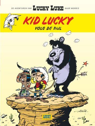 Kid Lucky 4, Volg de Pijl, 9782884714457