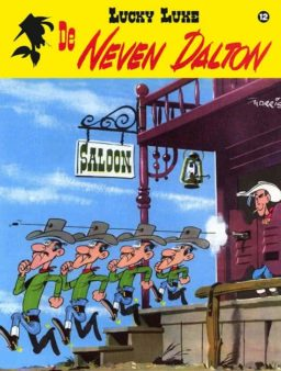 Lucky Luke 12, De Neven Dalton, 9789031434817