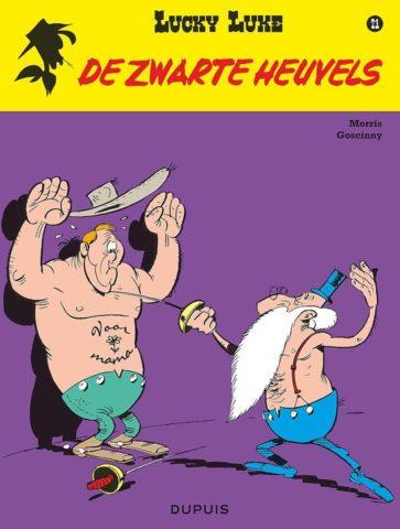 9789031436217.JPG, Lucky Luke 21, Zwarte Heuvels