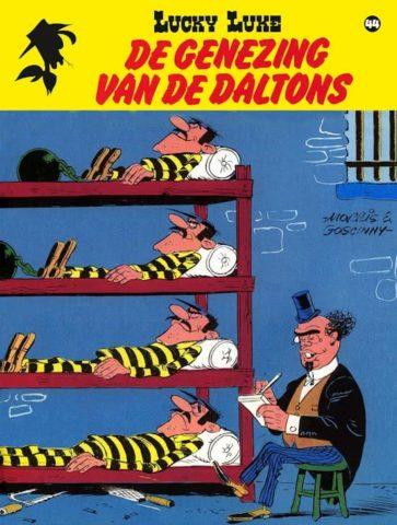 Lucky Luke 44 , Genezing van de Daltons, 9782884713962